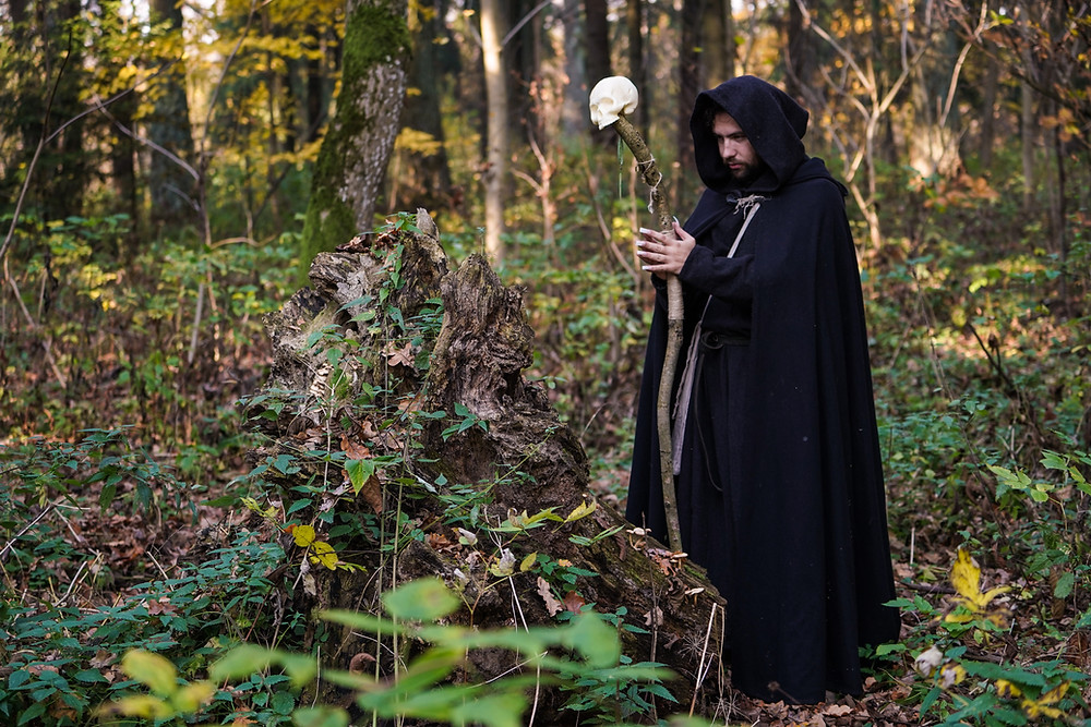 Robes and ceremonial tools are a large part of ritual magick and they are just as important as the spells and actions since they show dedication to the magick and unity in the ritual.