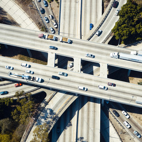 Every Freeway in America by Mark Simpson