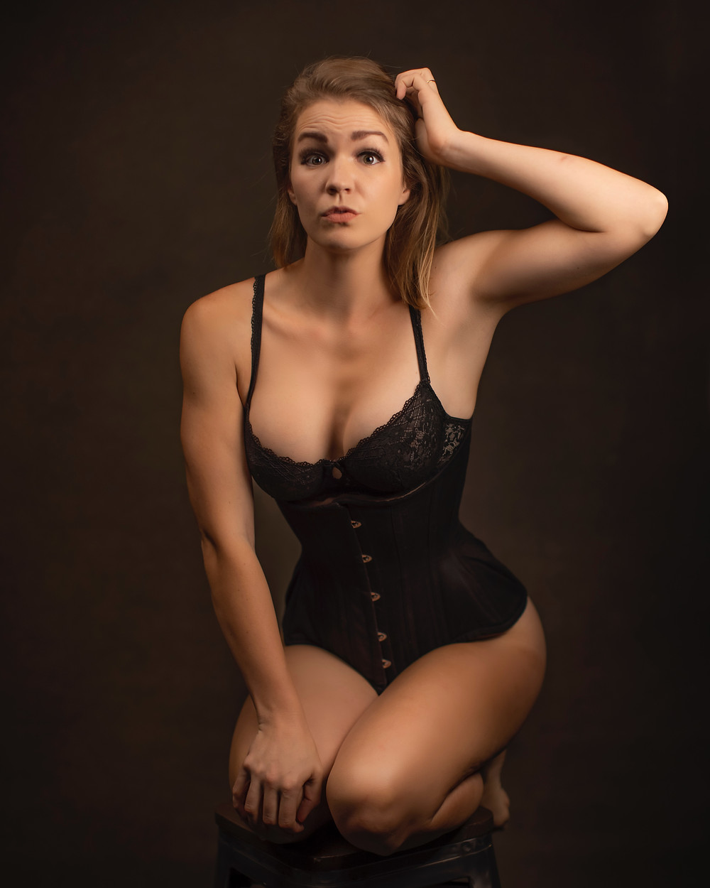 Breast reduction corset