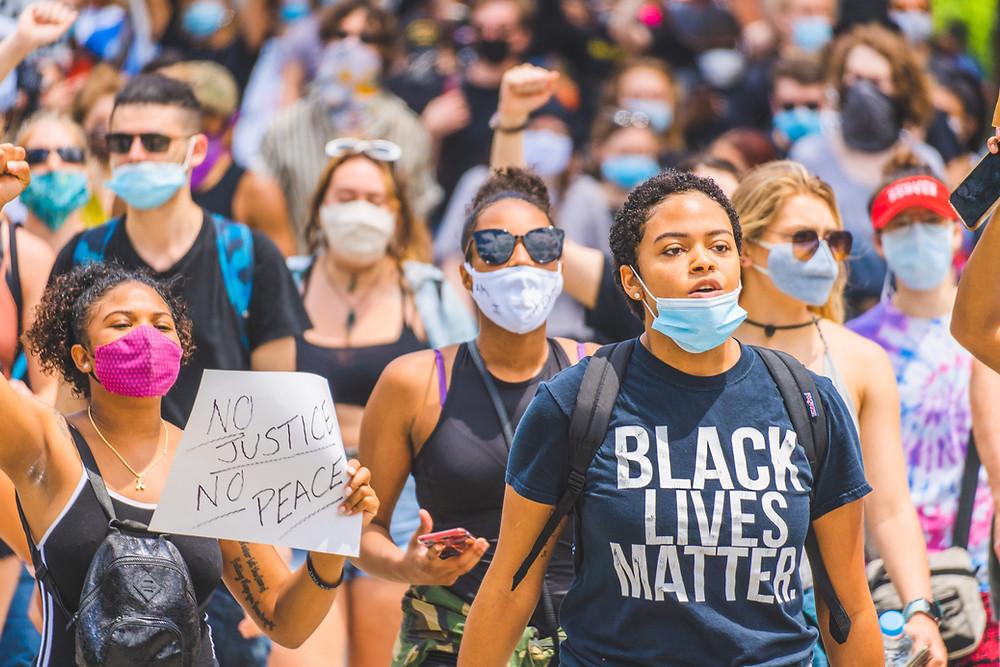 Black lives matter white privilege