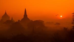 「日落」帝國.緬甸的夕照
