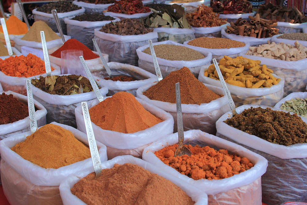 Many plants, herbs, and spices contain para-cymene terpenes