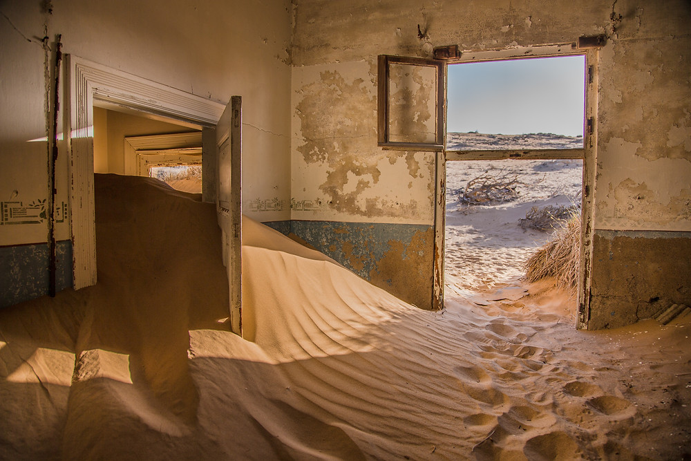 Kolmanskop is a must-see on your 21 day Namibia roadtrip