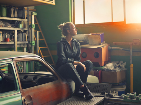 Decluttering My Garage