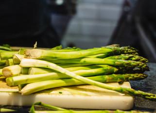 Chef Gianluca Deiana Abis: Risotto Con Asparagi/  Risotto with Asparagus