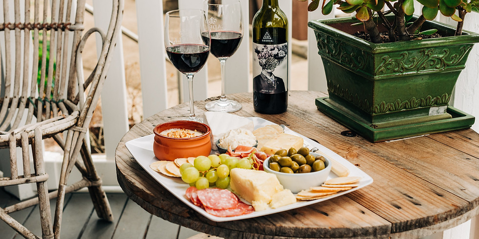 Front Porch Festival Cheese and Wine Pairing