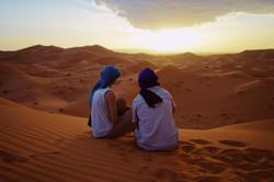 Saraha desert in Morocco