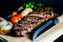 steak, meats,