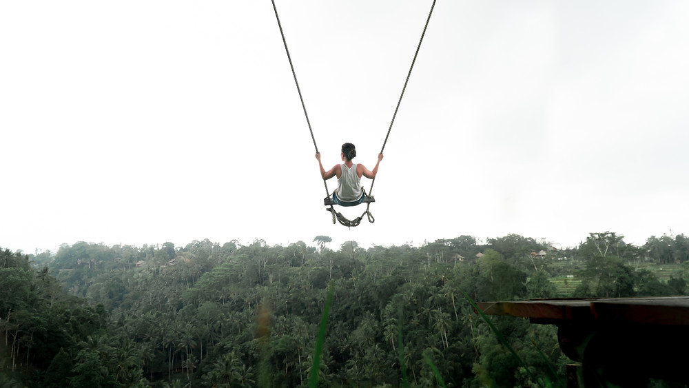 Adventure activated in Bali