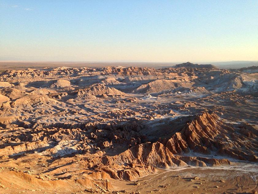 circuit dans le désert d'Atacama
