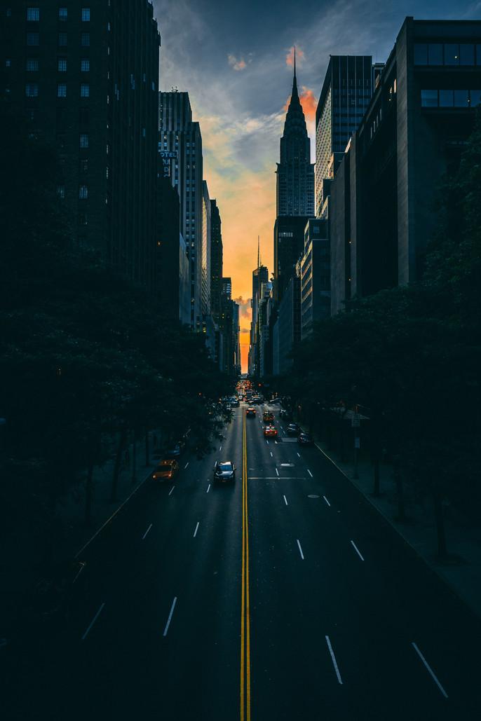 Manhattanhenge: cuando el Sol se cuela en NY