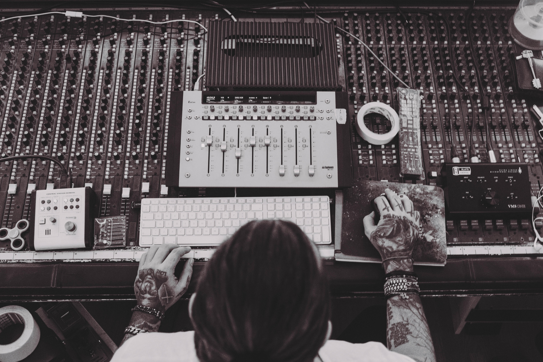 Studio Session w/ Anthony