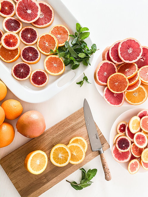 Grapefruit Rosemary Mint