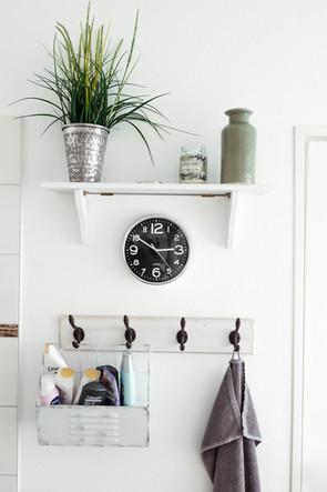 Shelf and hooks idea
