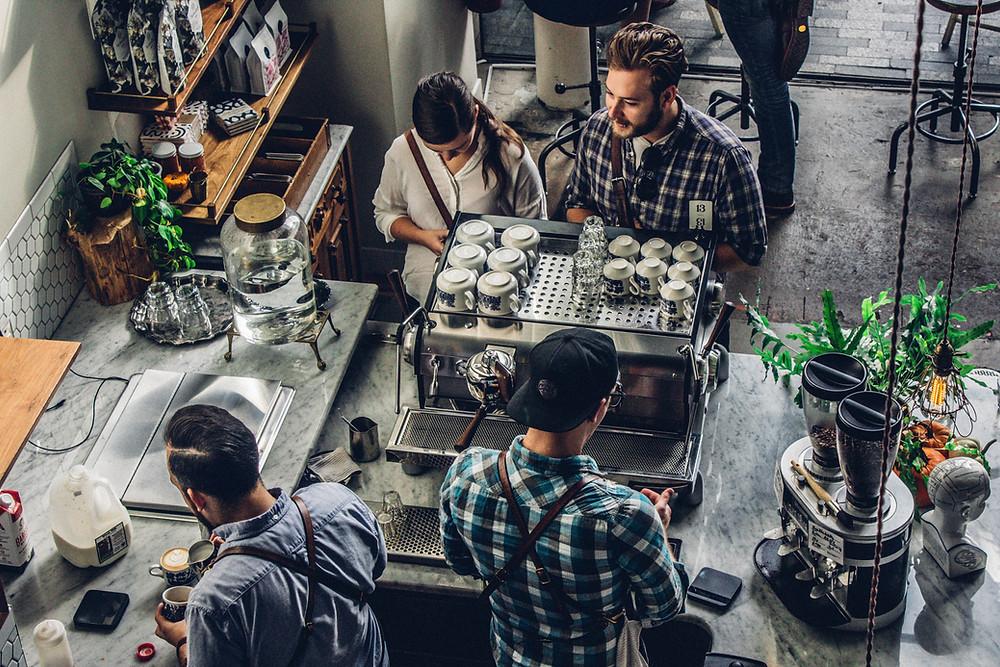 Coffee Shop Secret Shoppers