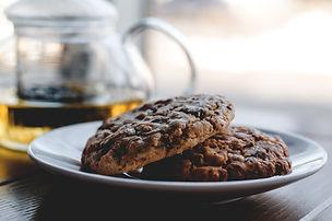 Choc Chip Peanut Butter Oat Cookies