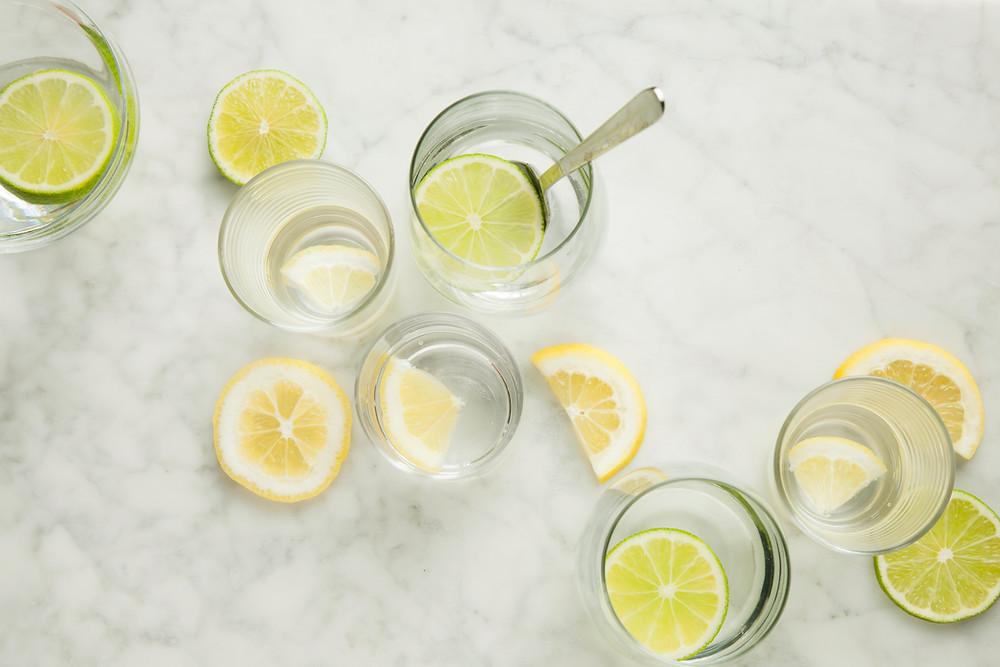 lemon water for gut health