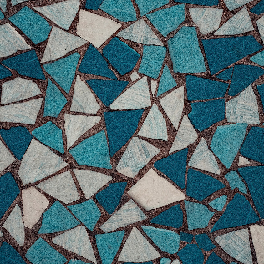 Mosaic Window Hanging / Ornament  (2)