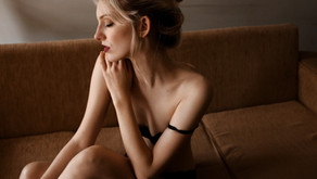 Relaxing for Your Boudoir Session