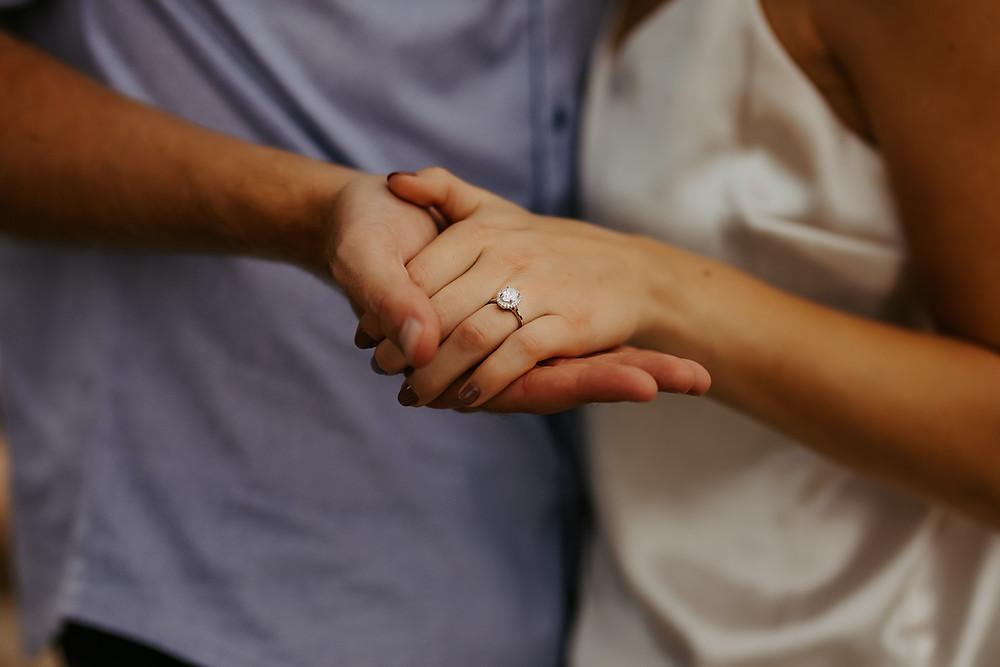 engagement captions romantic