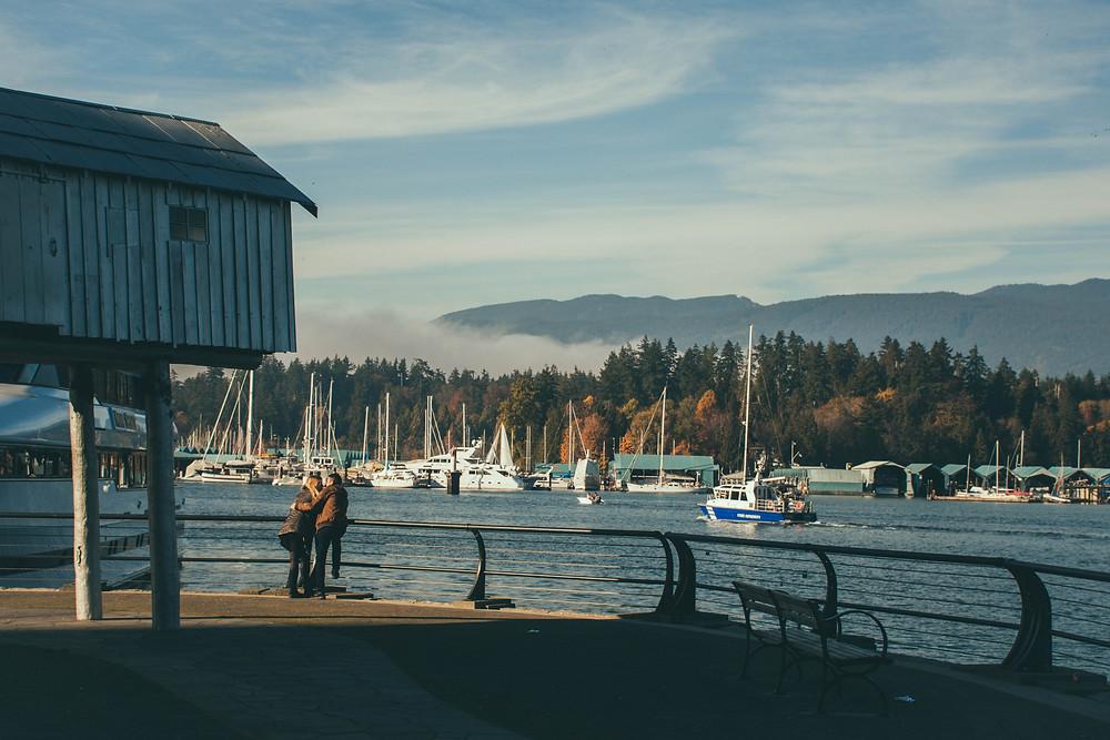 Vista para o Stanley Park, em Vancouver