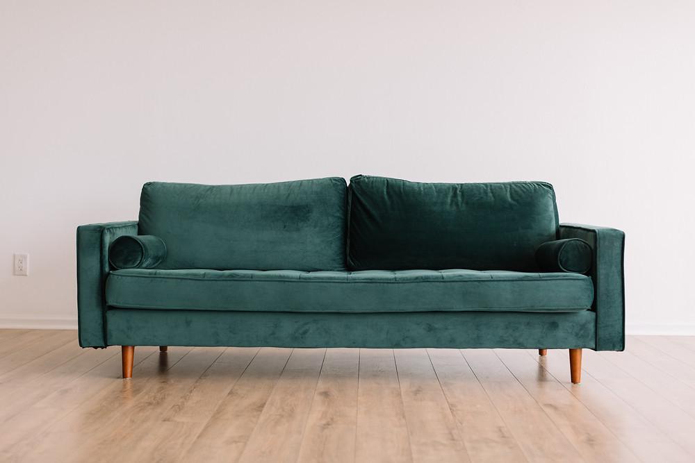 Furniture in storage unit