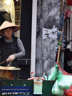 Street food adventures in Vietnam