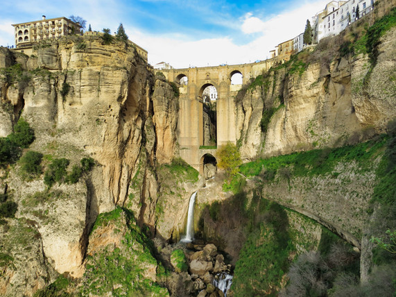 Famous bridge at Ronda
