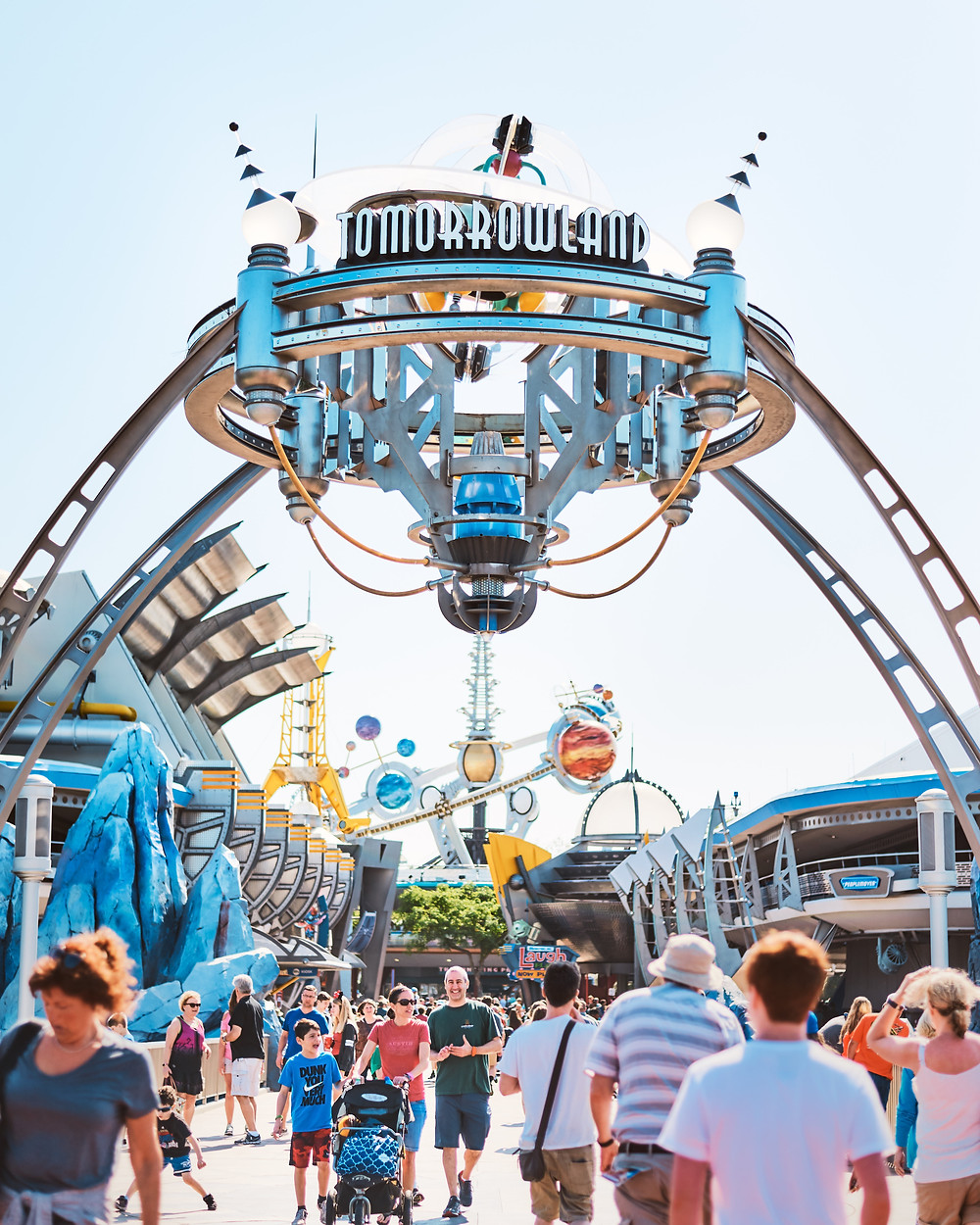 Disney Stroller Use