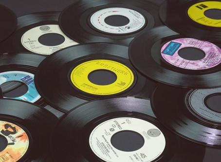レコード盤のサイズ
