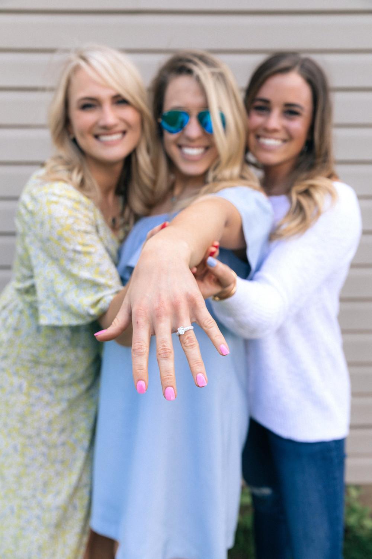 engagement captions bridesmaids