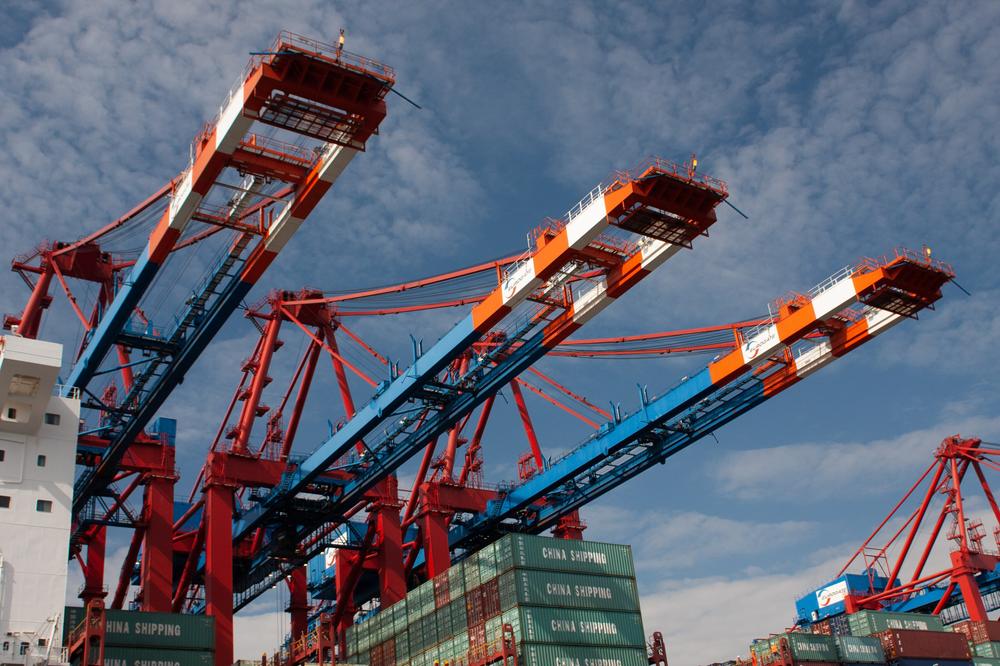 Cargo Ship Port - Trade In Goods