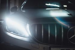 Front light LED of Car
