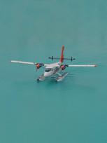 Seaplane arrival