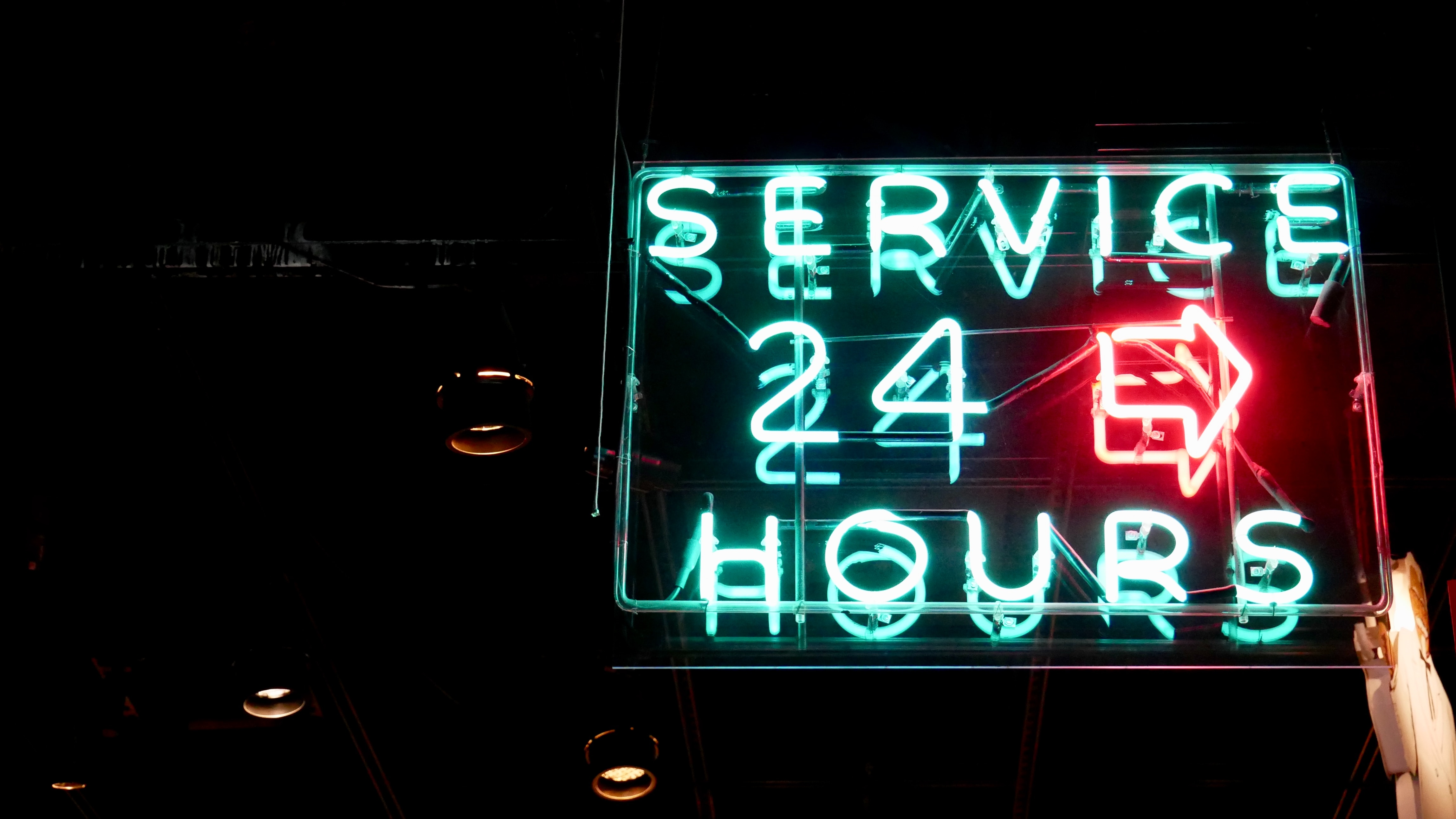 Service, 24/7