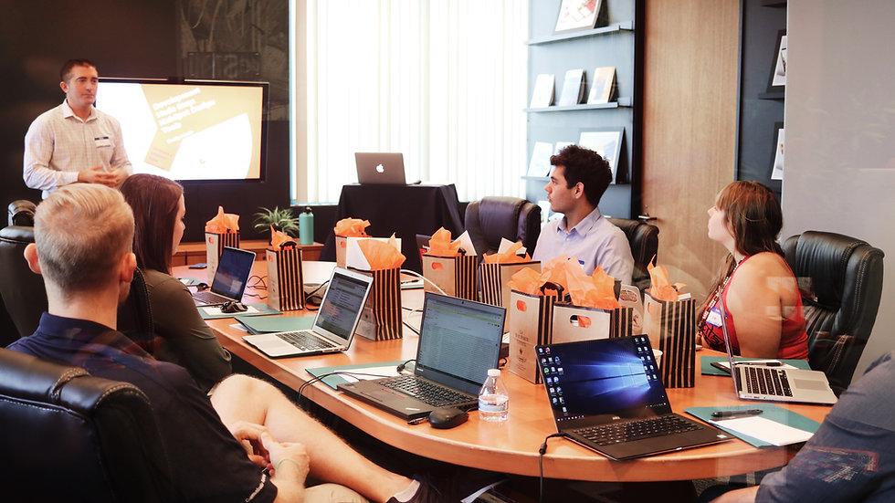 Business Meeting Presence