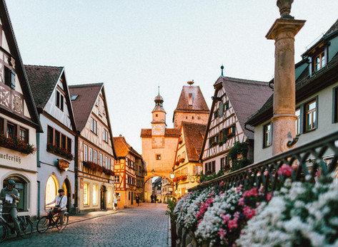 Discover the Beauty of Europe in the Fall by Anna Fishman