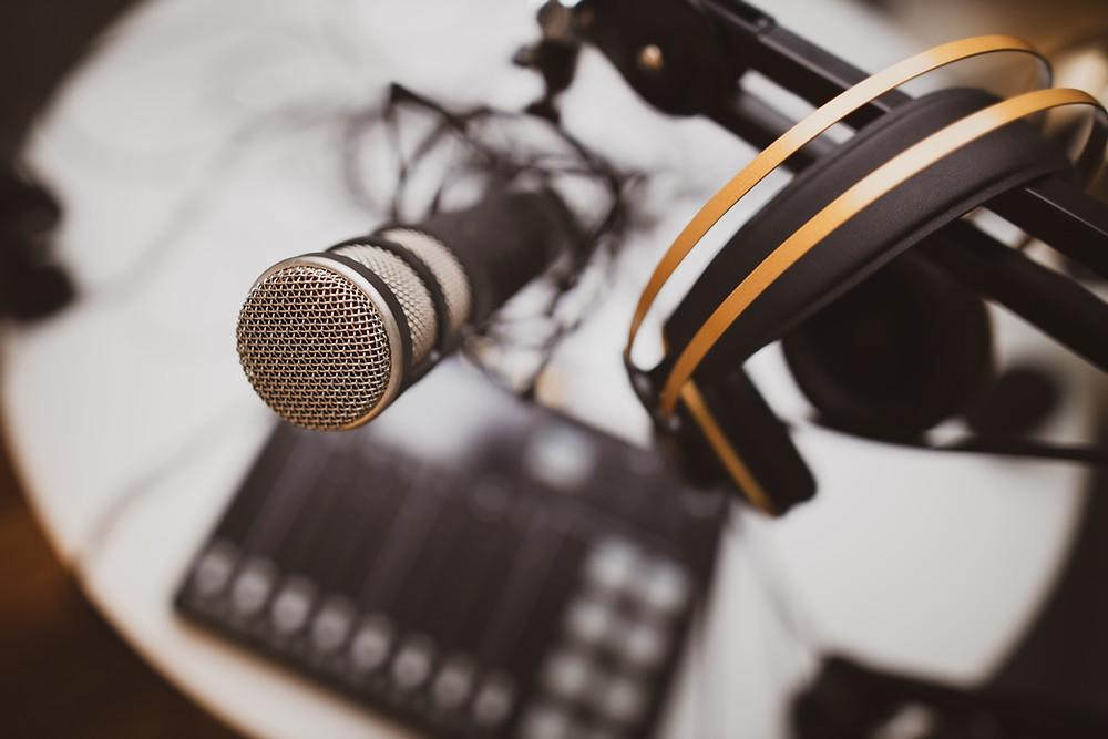 Podcast-Mikrofone