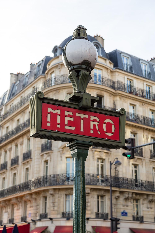métro parisien vers fontainebleau