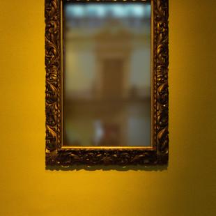 Millennium Glass: Ornate Mirror