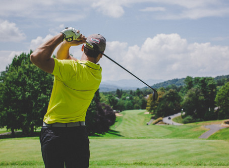 Why did the golfer wear two pairs of pants?