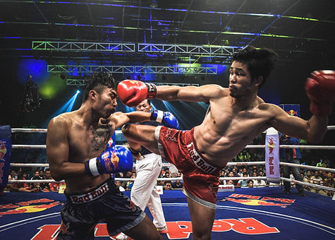 Petch Buncha Stadium, muay Thai boxing, Baan Saitara Villas luxury accommodation Koh Samui Island