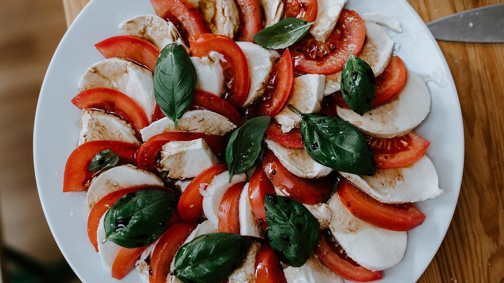 Mozzarella & Tomato Salad (V)