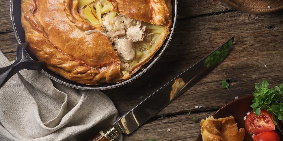 Pie & Pea Supper