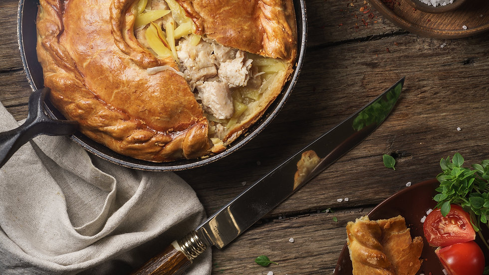Family Feast Sharing Meat Pie  - Wednesday 9th December - Winter Warmer