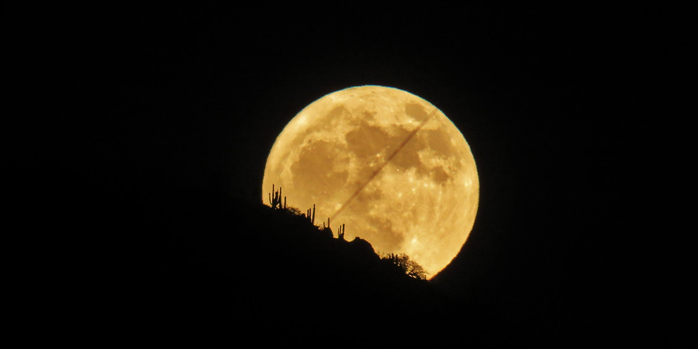 Mantra by Moonlight - Hallowe'en Hunter's Blue Moon Special!