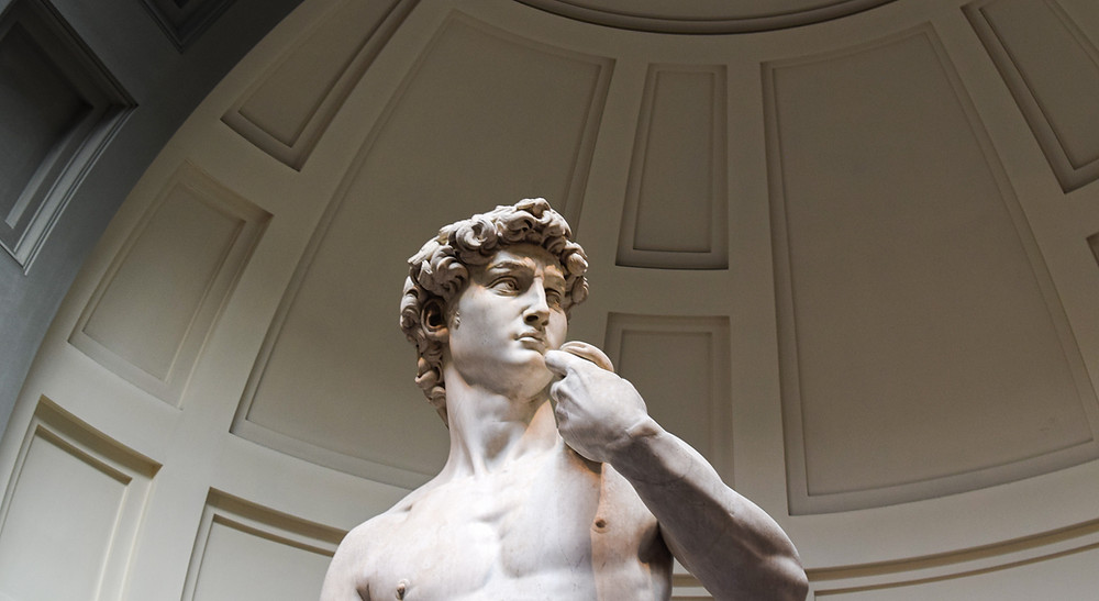 Statue of David in Florence. Travel agency_Bluetail Travel_Arlington Virginia