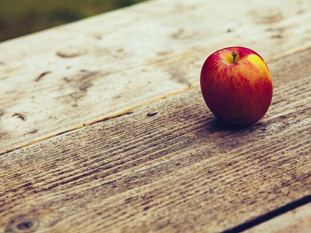 Äpfel haben gerade Hauptsaison ...