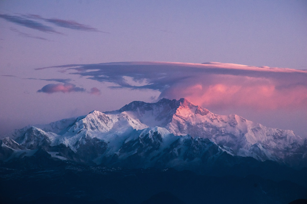 Kanchenjunga is the third highest peak in the world