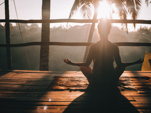 When thoughts pop in your head during meditation.  Meditation Tips!